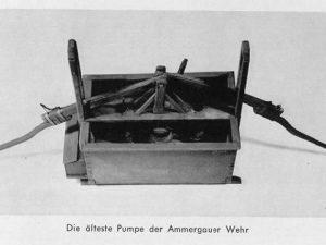 Geschichte Feuerwehr Oberammergau 1