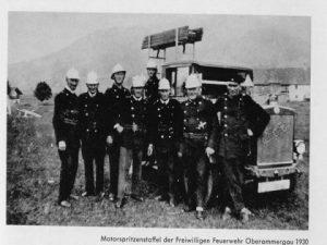 Geschichte Feuerwehr Oberammergau 3