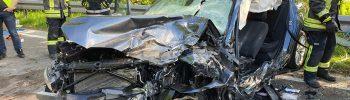 Unfall mehrere PKW, Personen eigeklemmt / B23 – Bad Bayersoien