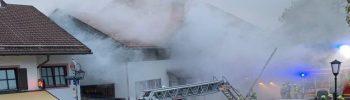Ammertal-Feuerwehren im Großeinsatz